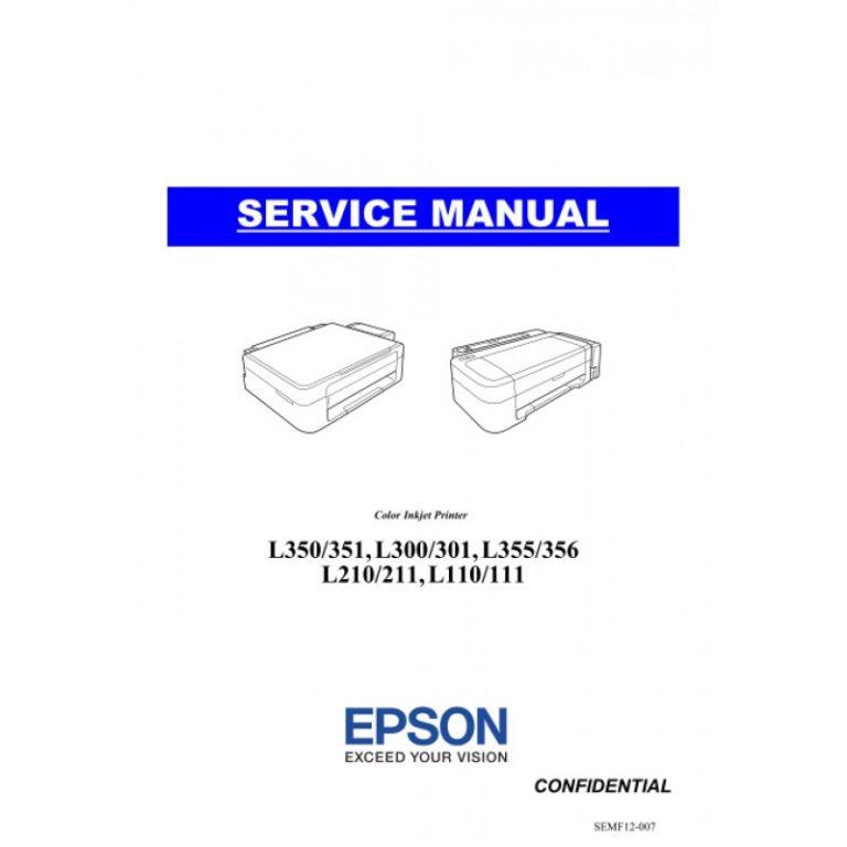Руководства по техническому обслуживанию (service manual) принтеров и МФУ Epson
